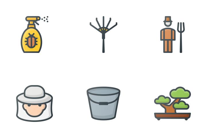 Gardening & Farming Icon Pack