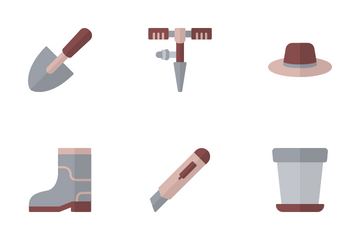 Gardening Tools Icon Pack