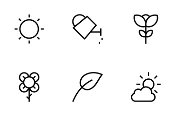 Gardening Vector Icons Icon Pack