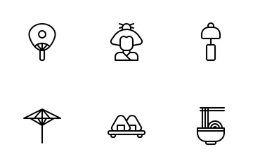 Garis Japanese Culture Icon Pack