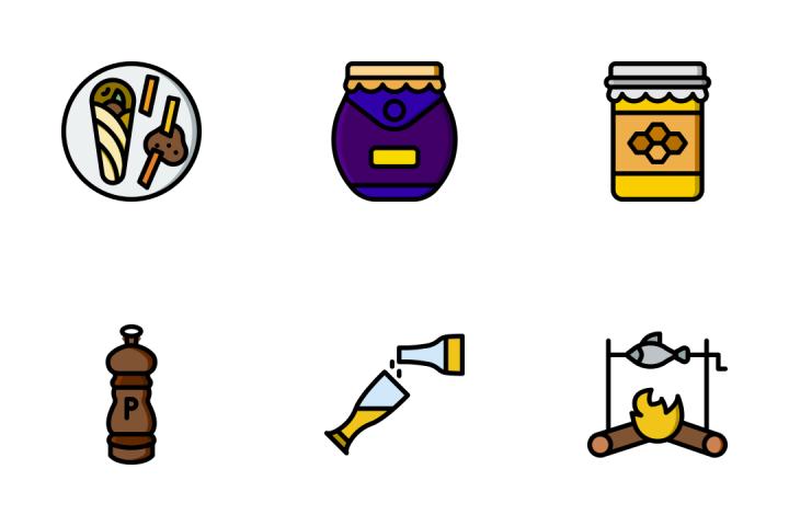 Gastronomy 2 - Retro Icon Pack