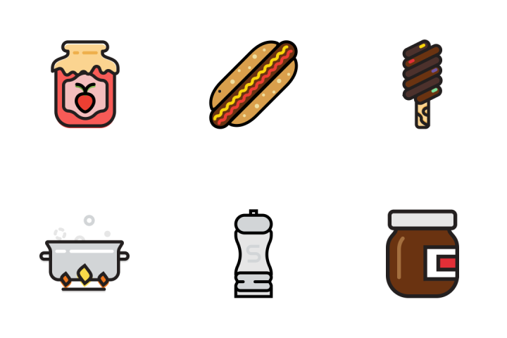Gastronomy 4 - Retro Icon Pack