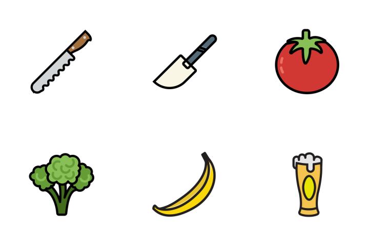 Gastronomy 5 - Retro Icon Pack