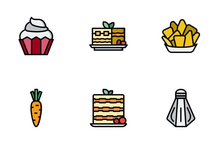 Gastronomy 7 - Retro Icon Pack
