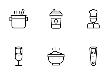 Gastronomy Icon Pack
