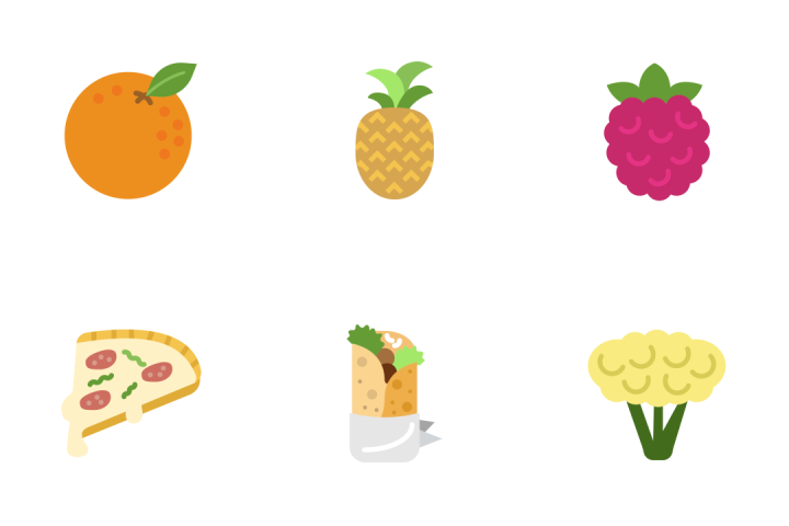 Gastronomy - Flat Icon Pack