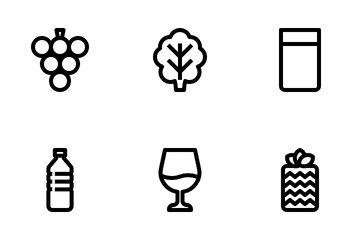 Gastronomy Food Icon Pack