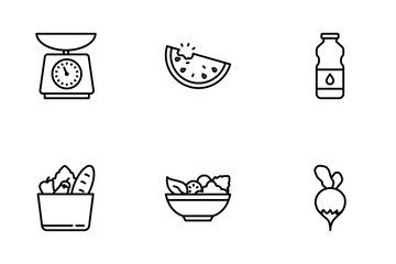 Gastronomy Set Icon Pack
