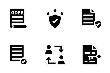 GDPR Basic Icon Pack