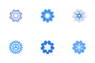Gears Icon Pack