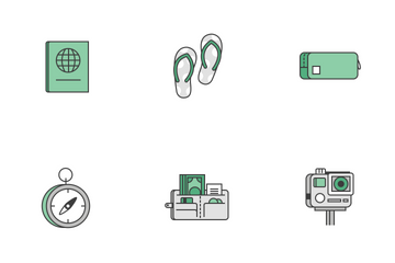 Geest: Travel Kit Icon Pack