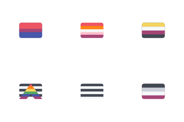 Genders Flags Icon Pack