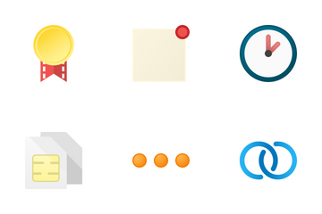 General Interface Color Icons Icon Pack