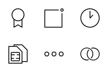 General Interface Icon Set Icon Pack
