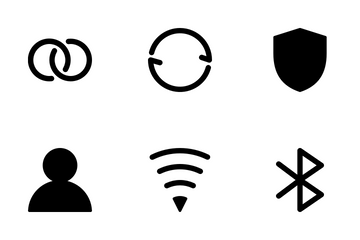 General Interface Solid Icons Icon Pack