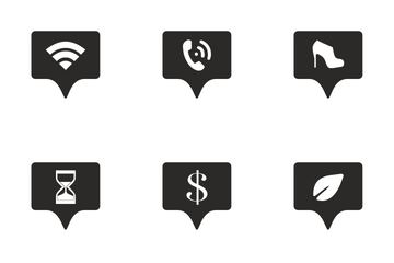 Geo Tags Icon Pack