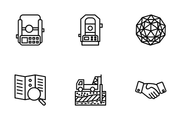 Geodetic Survey Icon Pack