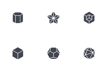 Geometric Abstract Shape Icon Pack