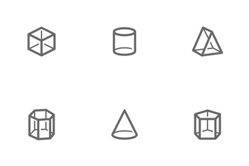 Geometric Shapes Icon Pack
