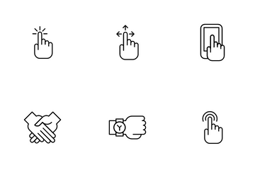 Gesture Icon Pack