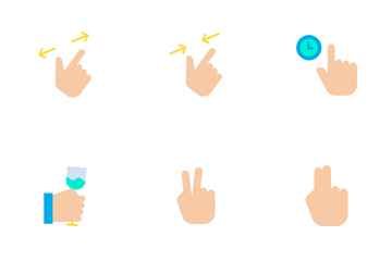 Gestures Icon Pack