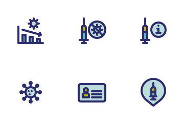 Get Vaccinated Icon Pack