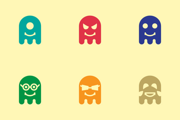 Ghost Emoji Icon Pack