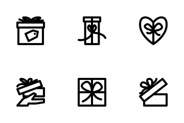 Gift Box Icon Pack