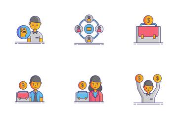 Gig Economy Icon Pack