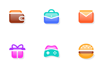 Glass Icon Pack