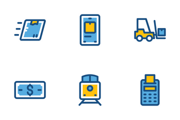 Global Logistics Icon Pack