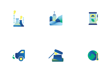 Global Warming Icon Pack
