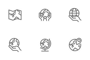 Globe Icon Pack