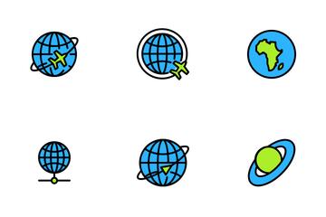 Globe Icon Pack