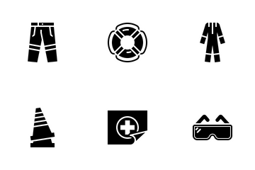 Glyph Safety Icon Pack
