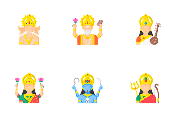 Gods And Goddesses Icon Pack