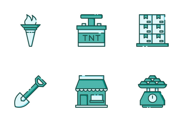 Gold Mine Icon Pack
