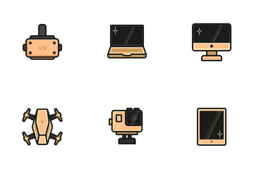 Golden Gadget Icon Pack