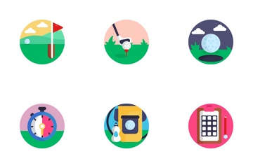 Golf Icon Pack