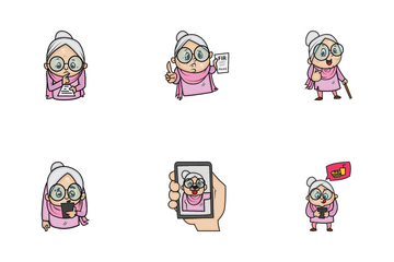 Granny Icon Pack