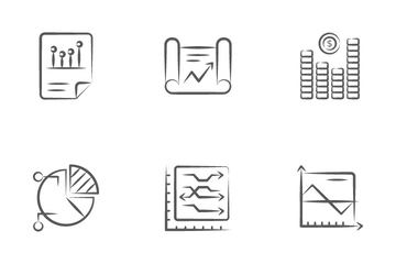 Graph And Chart Icon Pack