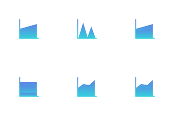 Graph And Chart Vol 3 Icon Pack