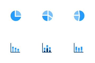 Graph And Chart Vol 5 Icon Pack