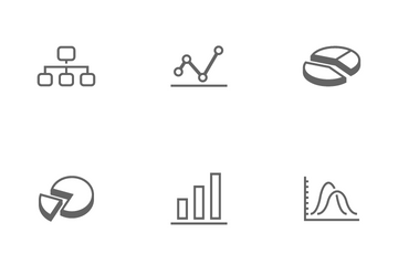 Graph And Presentation Icon Pack
