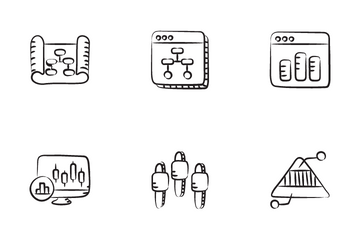 Graph Charts And Diagrams Icon Pack