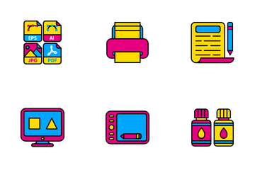 Graphic Design Icon Pack