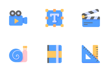 Graphic Design And Photography Icon Pack
