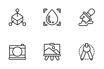 Graphic Design Art Icon Pack