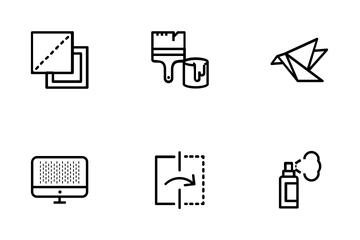 Graphic Design Tools  Icon Pack