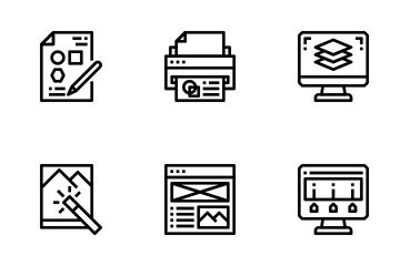 Graphic Designer Icon Pack